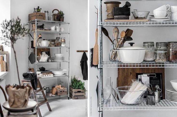 IKEA OMAR: All around stålreol