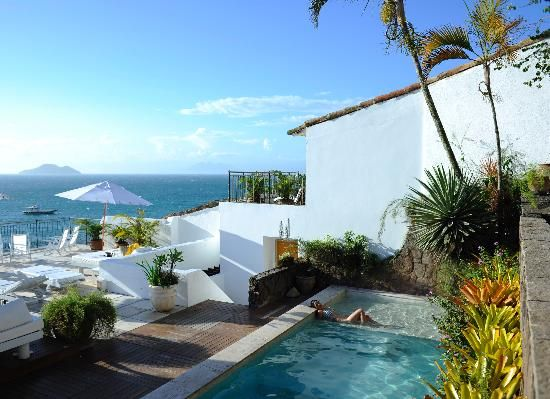 Casas Brancas, Buzios, Brazil.  A beatiful boutique hotel - I've been instructed to try out this place. :)