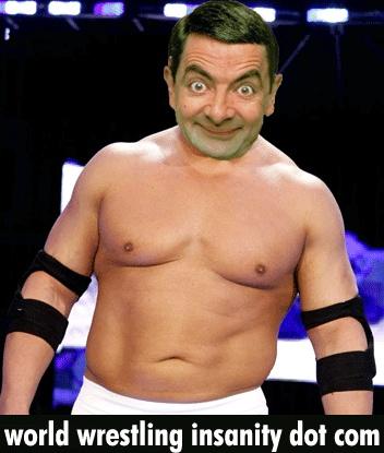 Wrestling Mr Bean