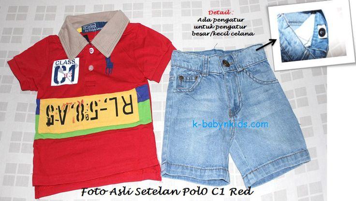 Set Polo Ralph Lauren Class C1 Red Brand : Polo Ralph Lauren Material : 95% Cotton, 5% Spandex Harga : Rp 130.000  Grosir Perlengkapan Bayi dan Anak Terbaik di Jakarta ONLINE Via Web : www.k-babynkids.com SMS ke 08170759660 BB ke 281341B0