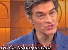 Dr. Oz: segredos Supermercado, cremes anti-envelhecimento e perda de peso lanches