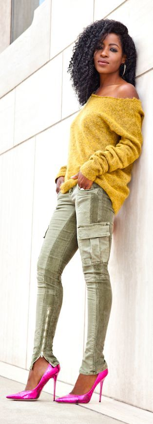 Cargo Pants Styling by Style Pantry