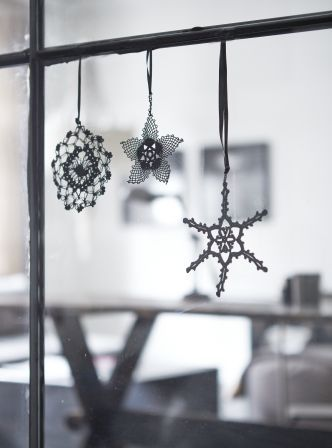 Crocheted Christmas Decorations AW14