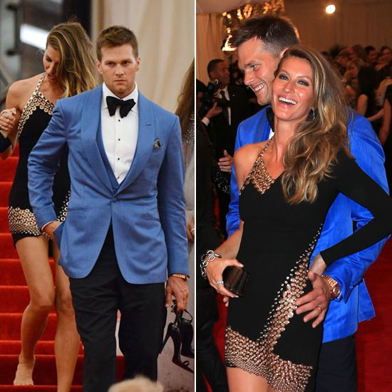 Gisele Goes Barefoot To End Loved Up Met Gala With Tom