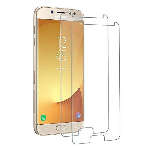cool Woocika para Samsung Galaxy J7 2017 Cristal Templado  Protector Pantalla para Samsung J7 2017, 3D Cobertura Completa Ajuste Perfecto 9H Alta Definicion sin Burbujas