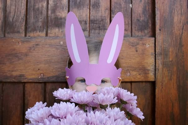 FREE BUNNY MASK DOWNLOAD
