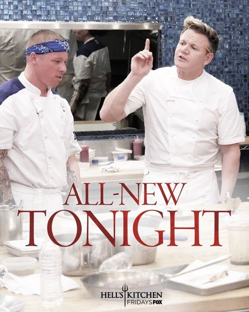 7626 best television images on pinterest for Hell s kitchen season 12 episode 1