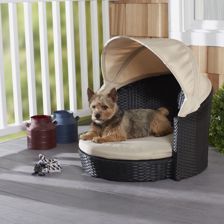 Enchanted Home Pet 28 Inch Arbor Outdoor Canopy Pet Bed By Enchanted Home  Pet