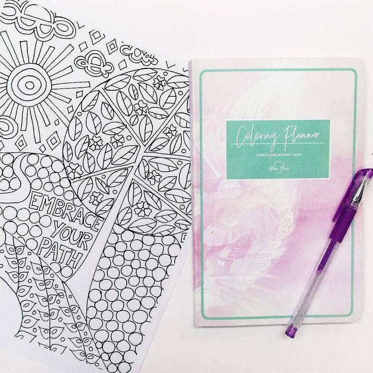 New Week Month Embrace Your Path With Our Coloring Planner
