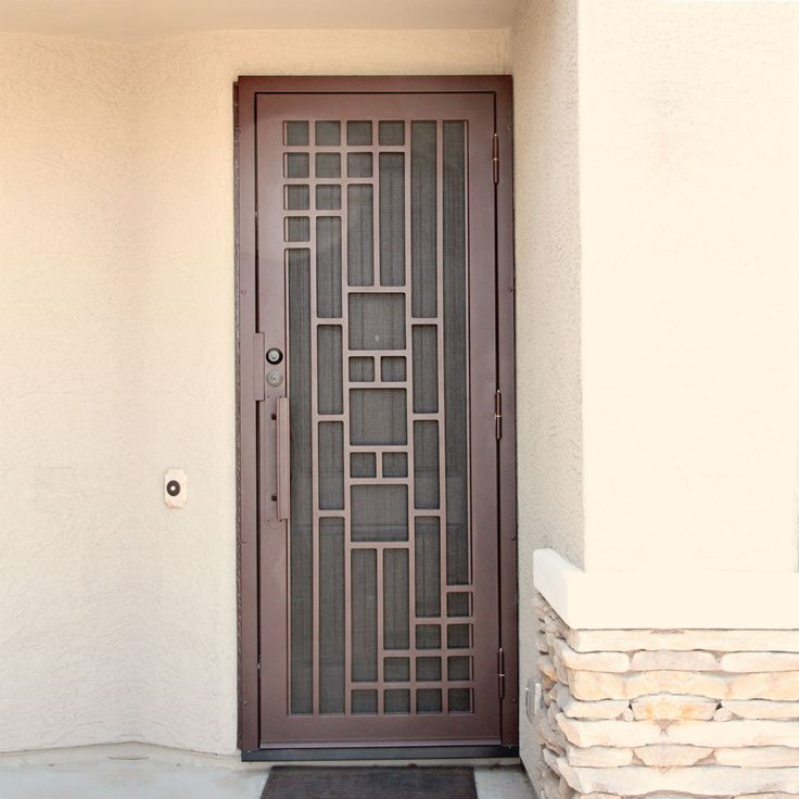 Custom wrought iron security screen doors or storm doors of the highest quality. Contact First Impression Security Doors today! & 15 best Exclusive Collection images on Pinterest | Security screen ... pezcame.com