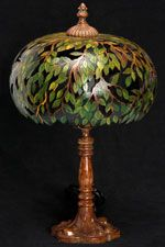 Gourd Lamp by Pamala Redhawk