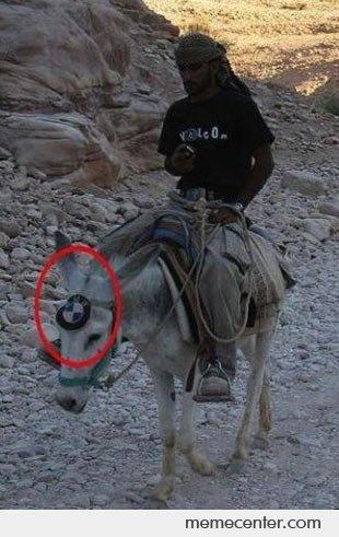 Travel In Style - BMW Donkey