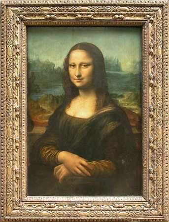 Monalisa Uma Das Obras De Arte Do Renascimento Museu Do Louvre