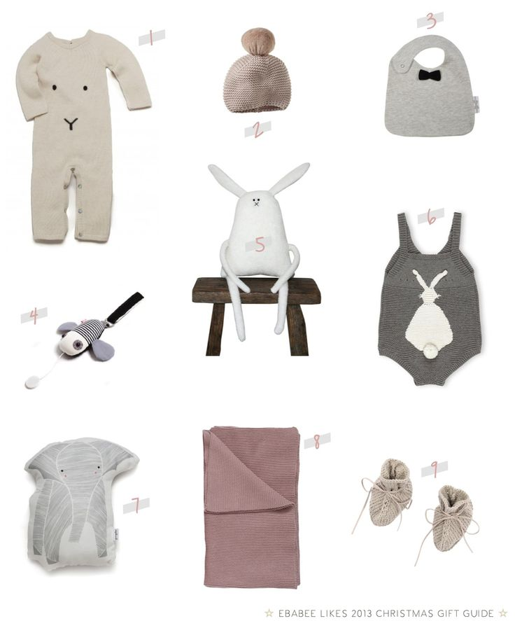 """Christmas gifts for newborns and babies"""