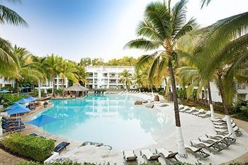 This is at Peppers Palm Cove Resort in Queensland, Au.  One of the most beautiful resorts I have EVER stayed at.  I still think about it and how amazing it was.