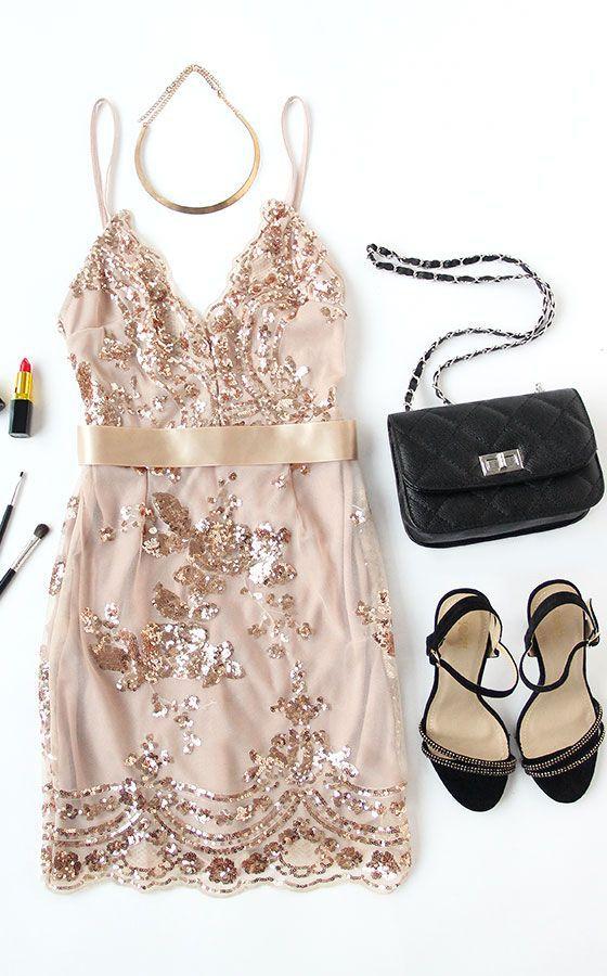 $49.99 Slim V-Neck Halter Party Dress