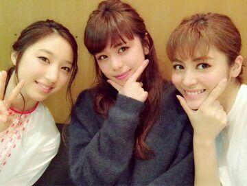 Kaede & Sato Harumi & Bando Nozomi #TwinTower