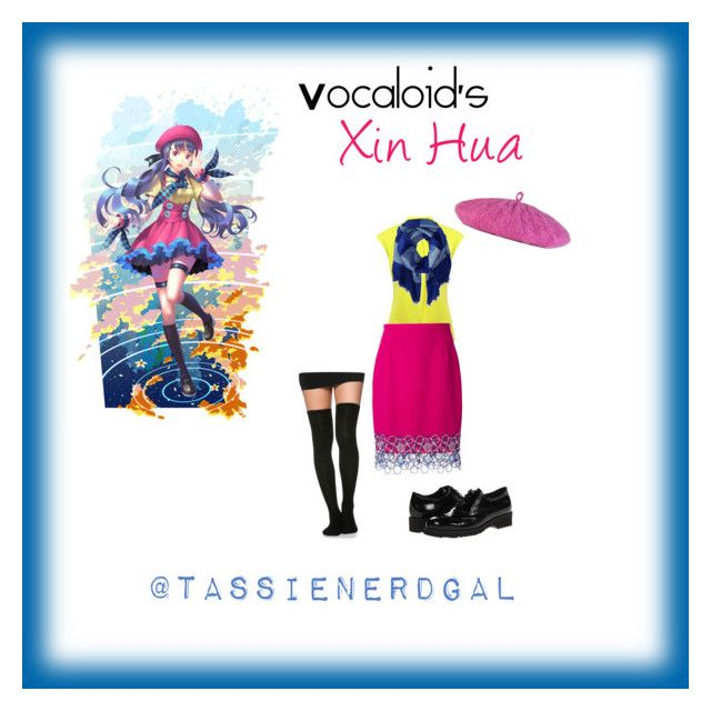"""""""Vocaloid's Xin Hua"""" by tassienerdgal ❤ liked on Polyvore"""