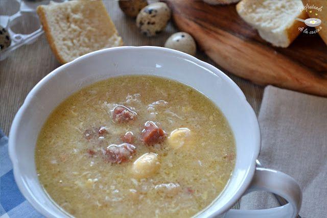 Deliciosa receta de Sopa de ajo o sopa castellana de Disfrutando de la Cocina
