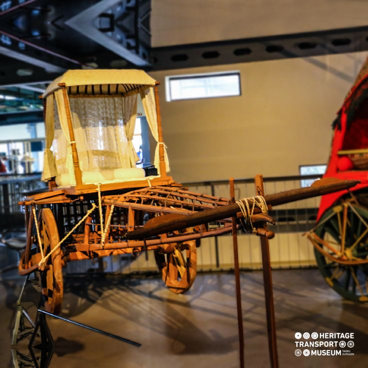 Ekka bullock carts were ox driven vehicles, used for public transportation!  #bullockcart #transportmuseum #vintagecollection #vintagetransport #gurugram #delhi #manesar #incredibleindia