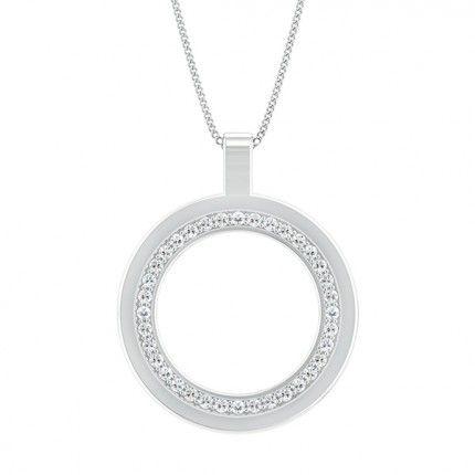 Bella Diamond Necklace in Platinum 950