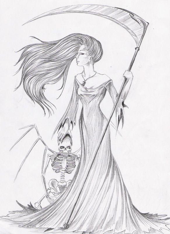 Me- the grim reaper's sister by Mia-017.deviantart.com on @deviantART