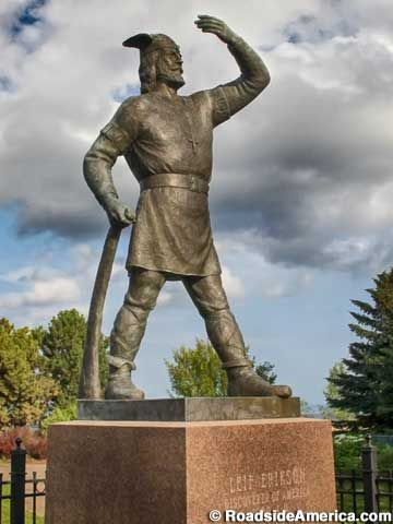 Statue of Viking Leif Erikson, Duluth, Minnesota