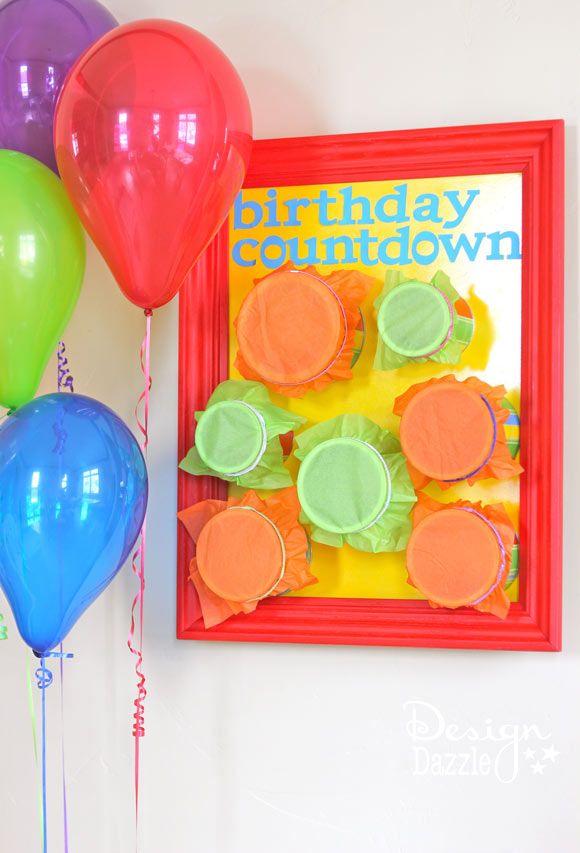 DIY: Birthday Countdown Punch Board - Design Dazzle
