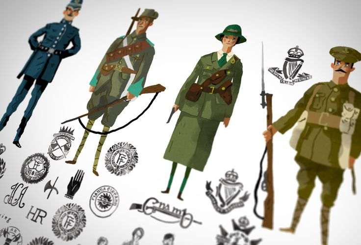 "Check out this @Behance project: ""Stakeholders of the 1916 Easter Rising"" https://www.behance.net/gallery/35450789/Stakeholders-of-the-1916-Easter-Rising"