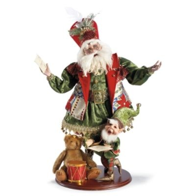 Mark Roberts Letters To Santa Figure: Christmas Reading, Christmas Crafts, Christmas Decoration, Child Christmas, Celebrity Santa, Christmas Wish, Letters To Santa, Father'S Christmas, Child Letters