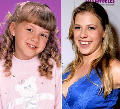 Jodi Sweetin played as stephanie tanner on full house... this is crazy!