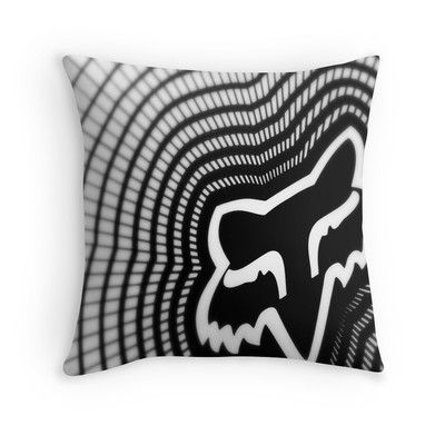 Fox Vortex Throw pillow