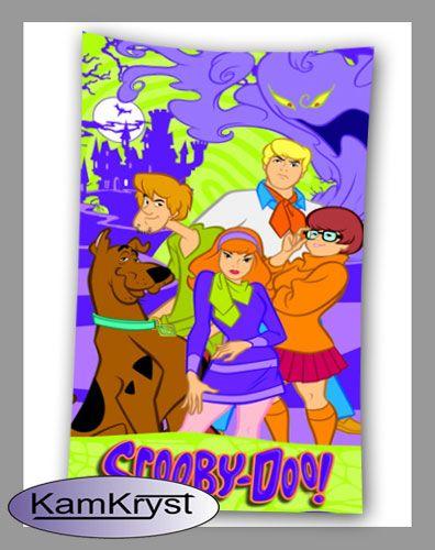 Scooby Doo towel 75 x 150 cm bedding shop KamKryst | Ręcznik Scooby Doo 75 x 150 cm sklep z pościelą KamKryst #scoobydoo #scooby_doo #scoobydoo_towel
