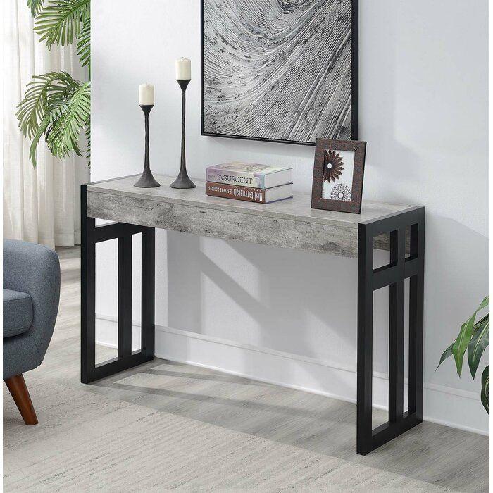 Wrought Studio Evelynn 49 5 Console Table Reviews Wayfair In 2020 Console Table Console Table Decorating Home Decor