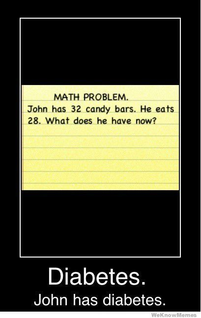 Math: Make Me Laughing, Math Problems, Jokes, Diabetes, Math Words Problems, Candy Bar, Funny Stuff, Humor, So Funny