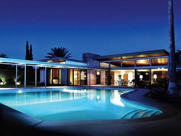 mid-century modern...sinatra's place: Mid Century Modern, Franksinatra, Dreams Houses, Modern Architecture, Palms Spring, Sinatra Houses, Twin Palms, Midcentury, Frank Sinatra