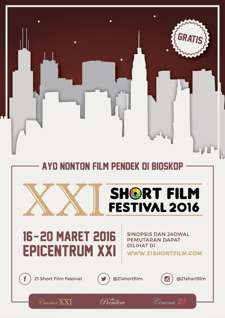 Nonton Gratis Film Pendek di XXI Epicentrum Short Film Festival 2016 #nonton #nontongratis #film #gratis #xxi #bioskop
