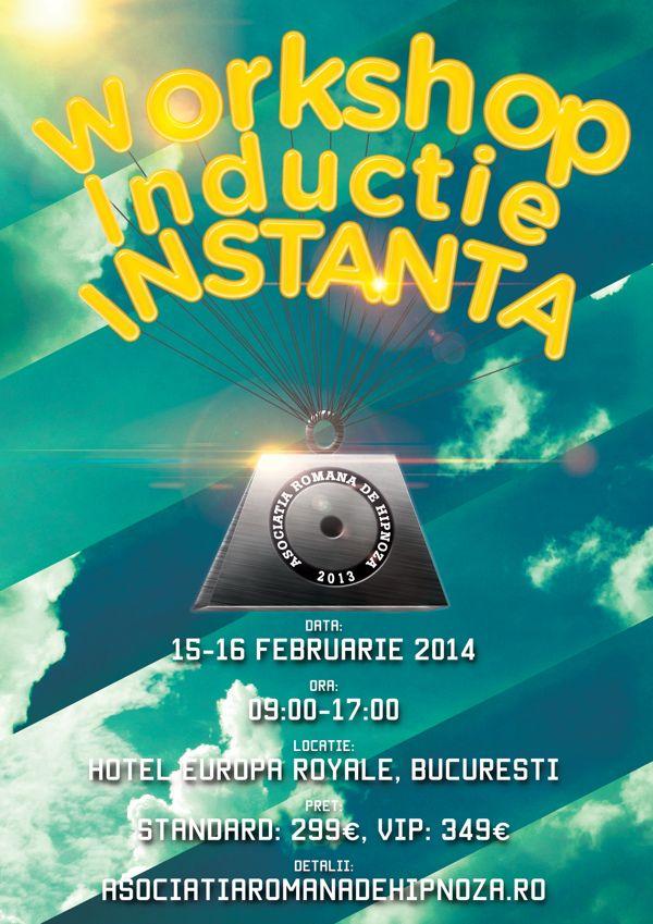 Hypnotizing poster on Behance