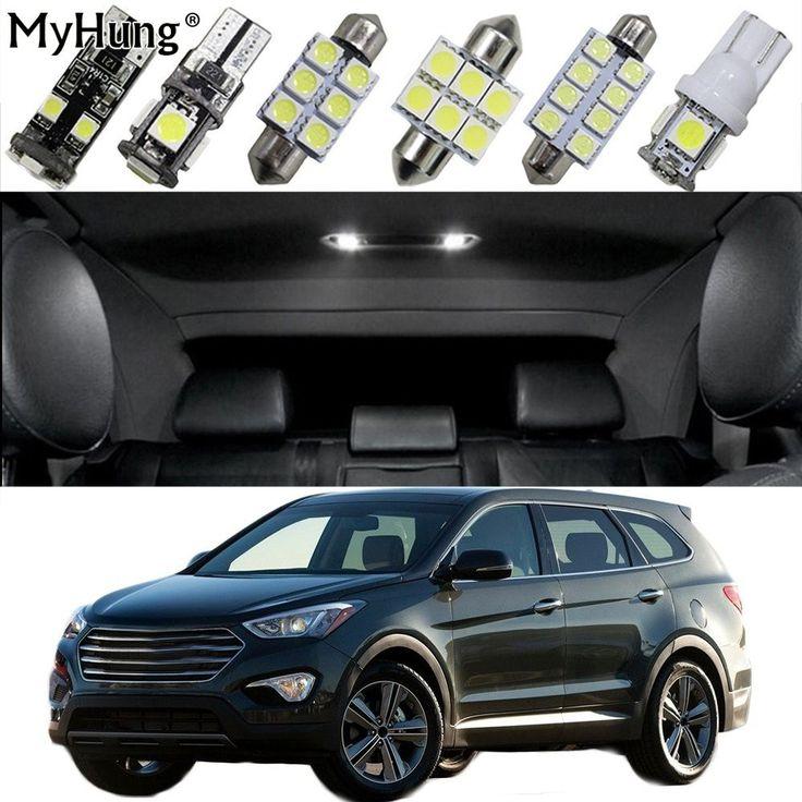 Discount! US $14.69  For Hyundai Santa Fe Grand Santa Fe Tucson IX25 IX45 Car Led Headlight Bulbs Replacement Bulb Dome Map Lamp Light Bright 16PCS  #Hyundai #Santa #Grand #Tucson #Headlight #Bulbs #Replacement #Bulb #Dome #Lamp #Light #Bright  #BlackFriday