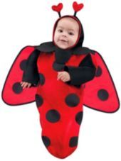 Cutie Ladybug Baby Costume Bunting-Halloween City