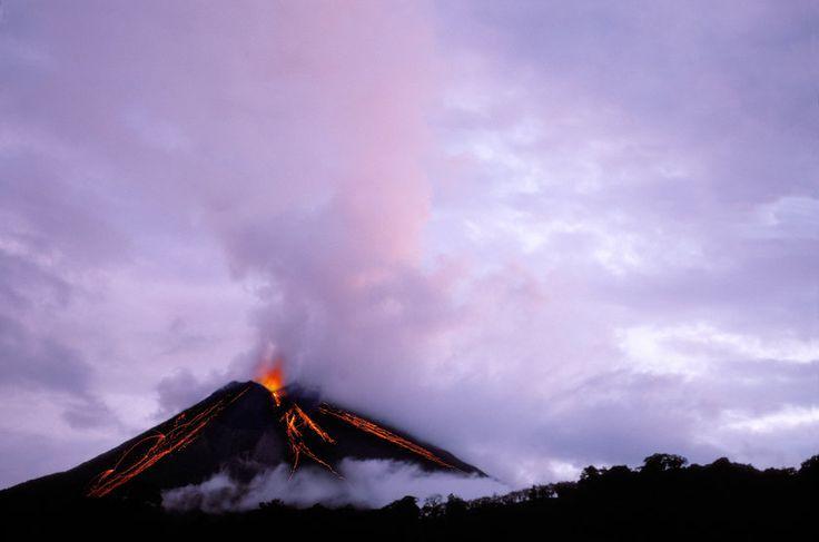 Vulcão Arenal, na Costa Rica, América Central