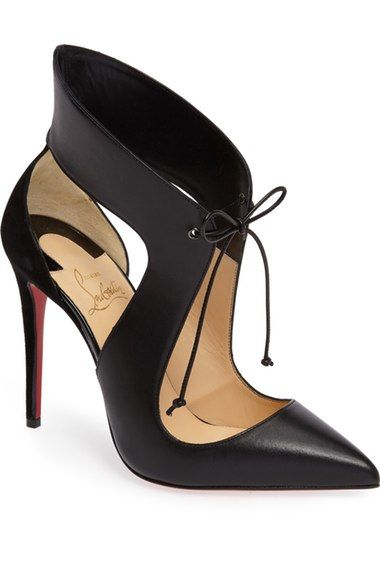 Christian Louboutin Ferme Rouge Pointy Toe Pump (Women) available at #Nordstrom