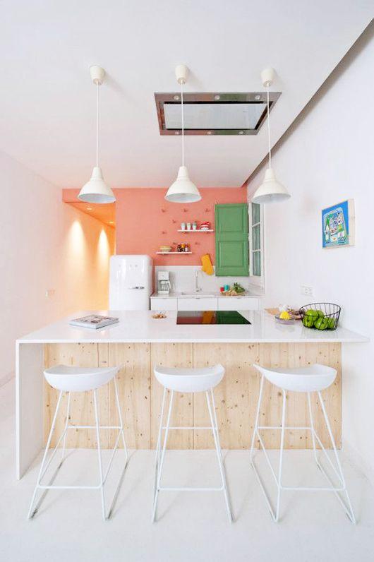 playful pastel kitchen / sfgirlbybay