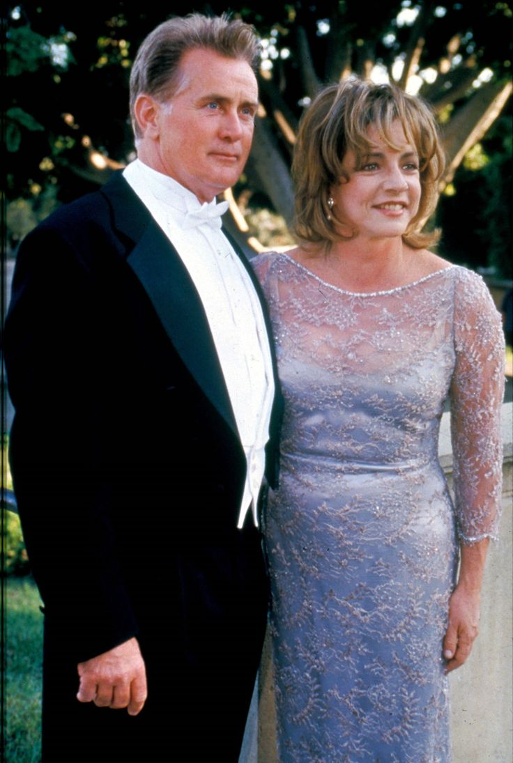 The West Wing: President Josiah and Abigail Bartlet  Played by: Martin Sheen and Stockard Channing