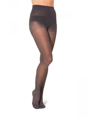 710 ALLURE HOSIERY FOR WOMEN | Sigvaris Medical compression stockings, available in graphite or black, as thigh highs or pantyhose
