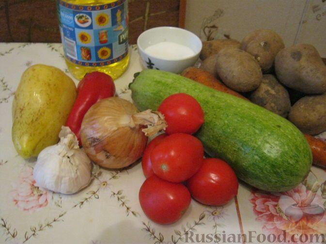 Фото приготовления рецепта: Овощное рагу вегетарианское - шаг №1