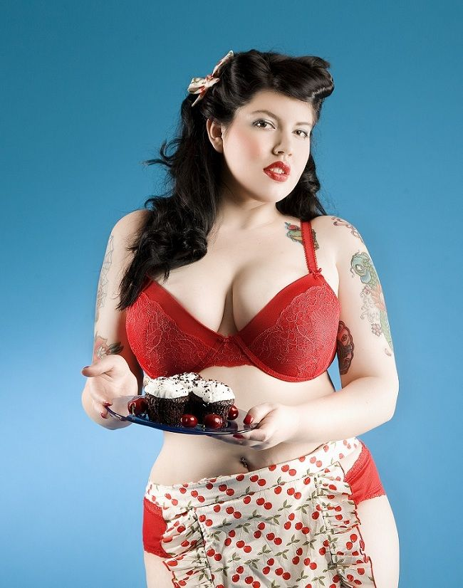 Apologise, but, Curvy pin up girls nude something