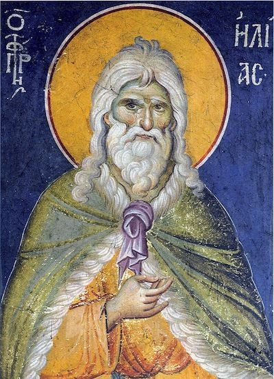 Elijah the Prophet (Elias, Helias, Ηλίας) Icon (2)