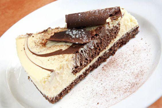 """Prăjitura """"Duo Creme"""", gata în 15 minute, fără coacere! O reţetă foarte simplă, cu puţine ingrediente   Food a1.ro"""