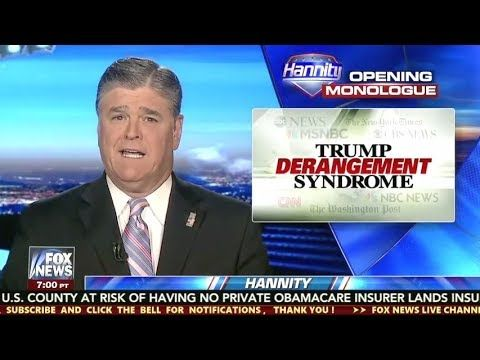 Sean Hannity 8/24/17 - Hannity Fox News Today August 24, 2017 FAKE NEWS MEDIA, MSESPN, TRUMP - YouTube